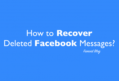 recover facebook deleted messages