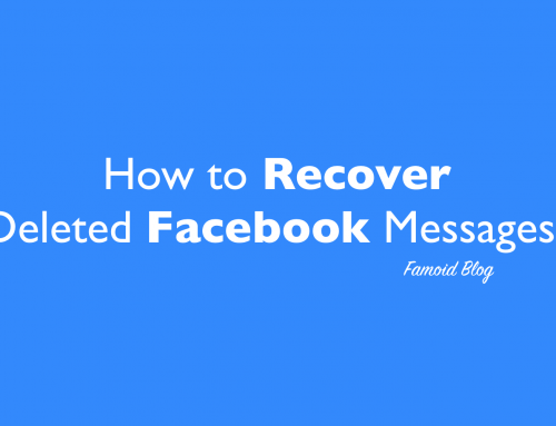 How to Recover deleted Facebook messages? [Solution – 2018]