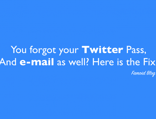 I Forgot My Twitter Password and Don't know the E-mail Address [Fix!]