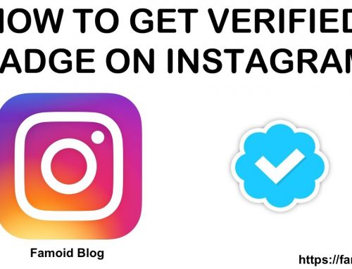 How To Get Verified on Instagram (Verification Badge) – [Details – 2018]