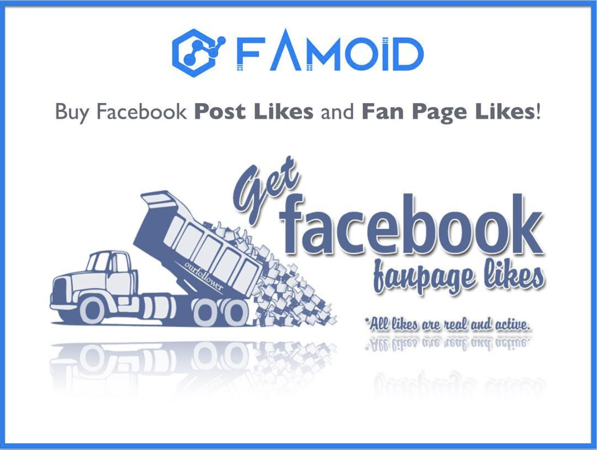 FB Page Likes from Famoid