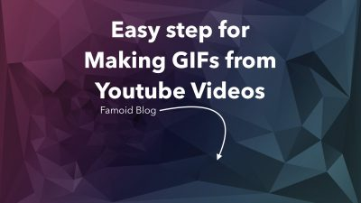 Easy Steps for Making a Gif from Youtube Videos - Famoid