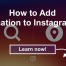 How to Add Location to Instagram? - Famoid