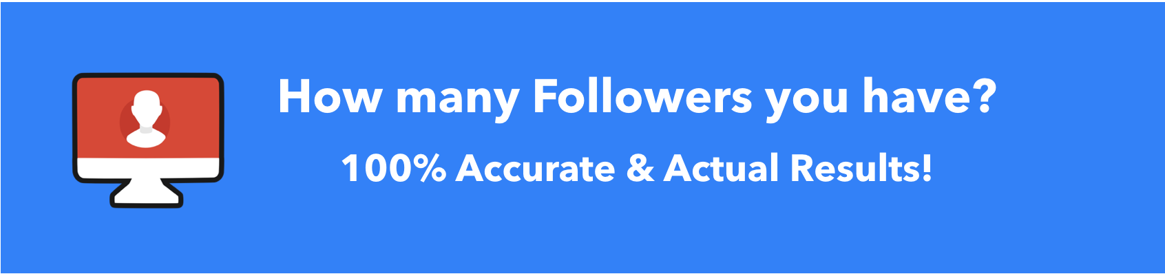 Best way to check Instagram Follower Count