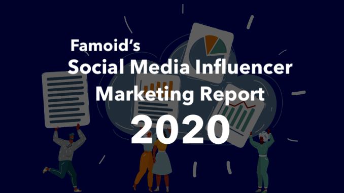 Famoid's Social Media Influencer Marketing Report