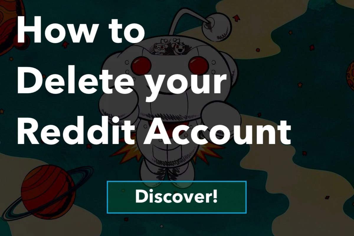 How to Delete A Reddit Account