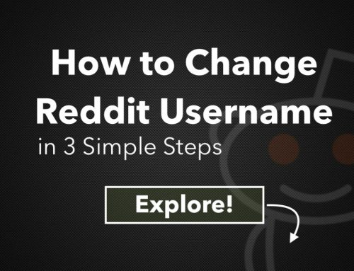 How to Change Reddit Username