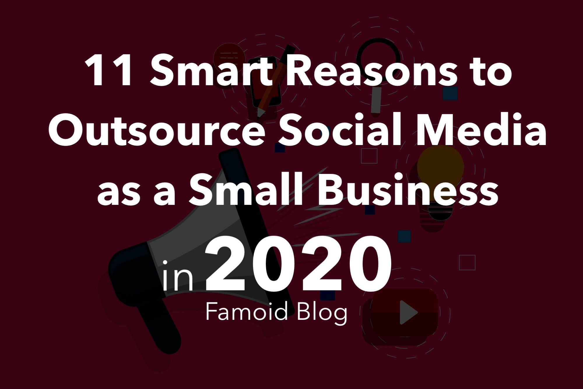 11 Smart Reasons to Outsource Social Media as a Small Business