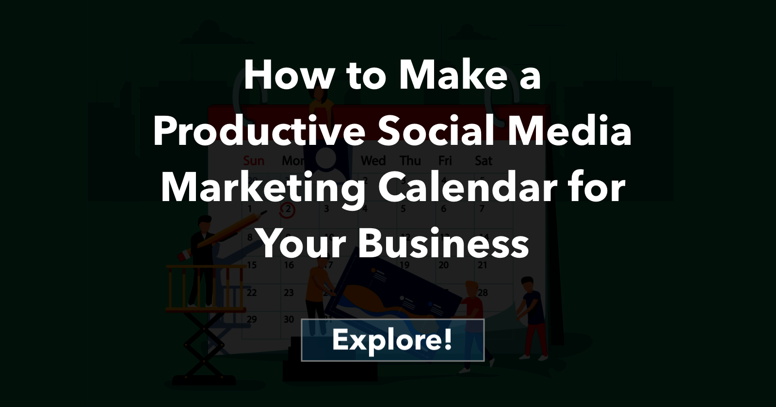 Social Media Marketing Calendar