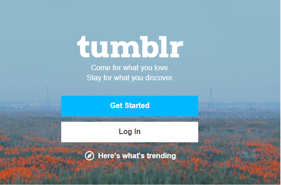 How to add a link in tumblr description step:2