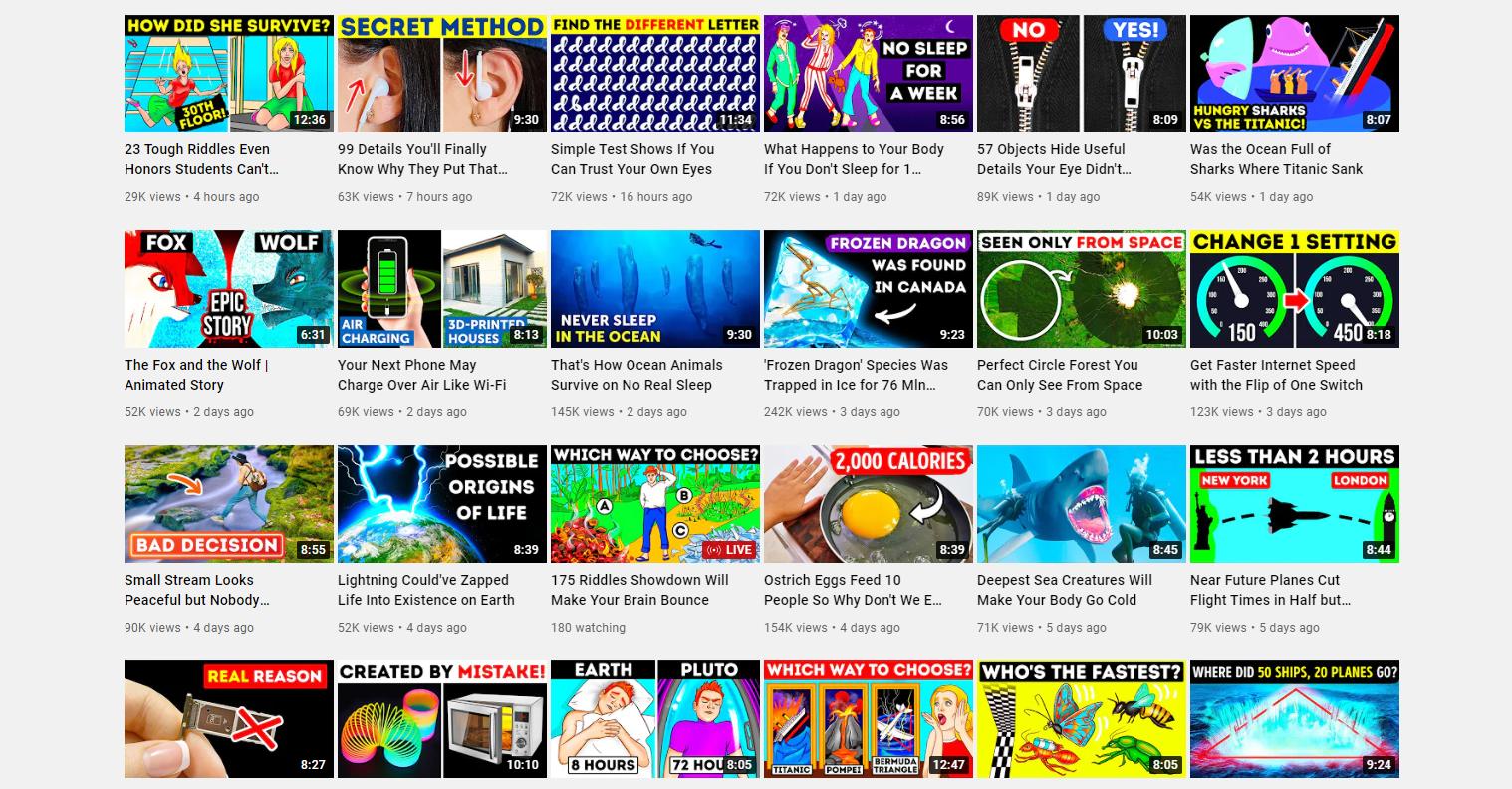 Brightside YouTube channel