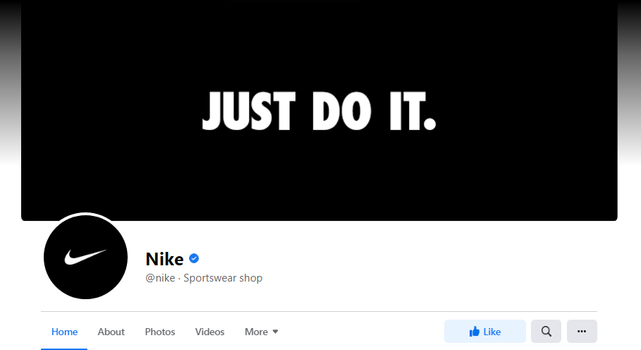Nike facebook cover image