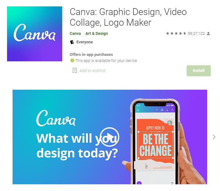 Canva - Instagram Story App