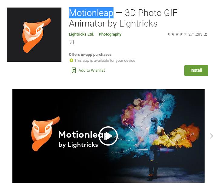 Motionleap